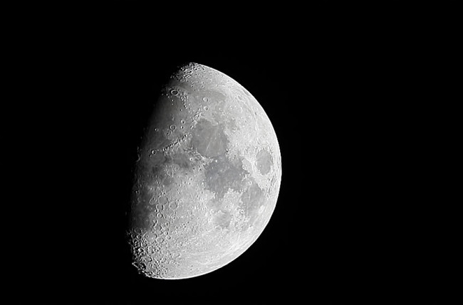 Moon on April 8th, 2014